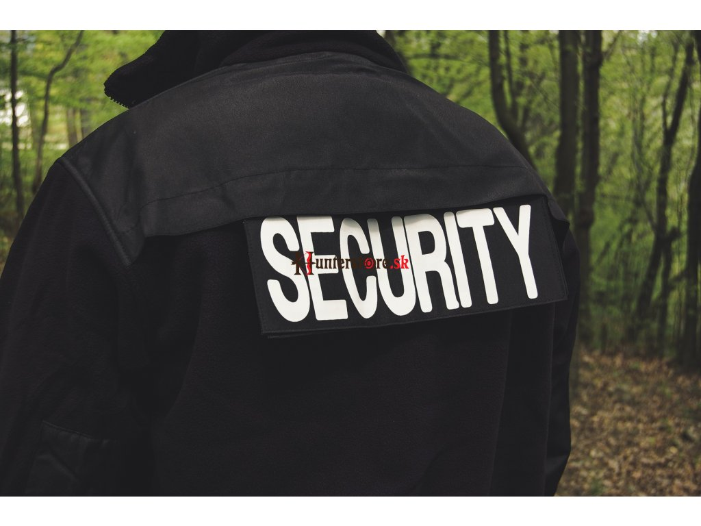 Mil-Tec Security fleecová mikina čierna - Hunterstore.sk 12193b28114