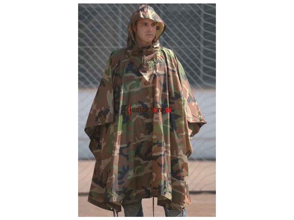 eng pl Woodland RIPSTOP WET WEATHER PONCHO 2750 2