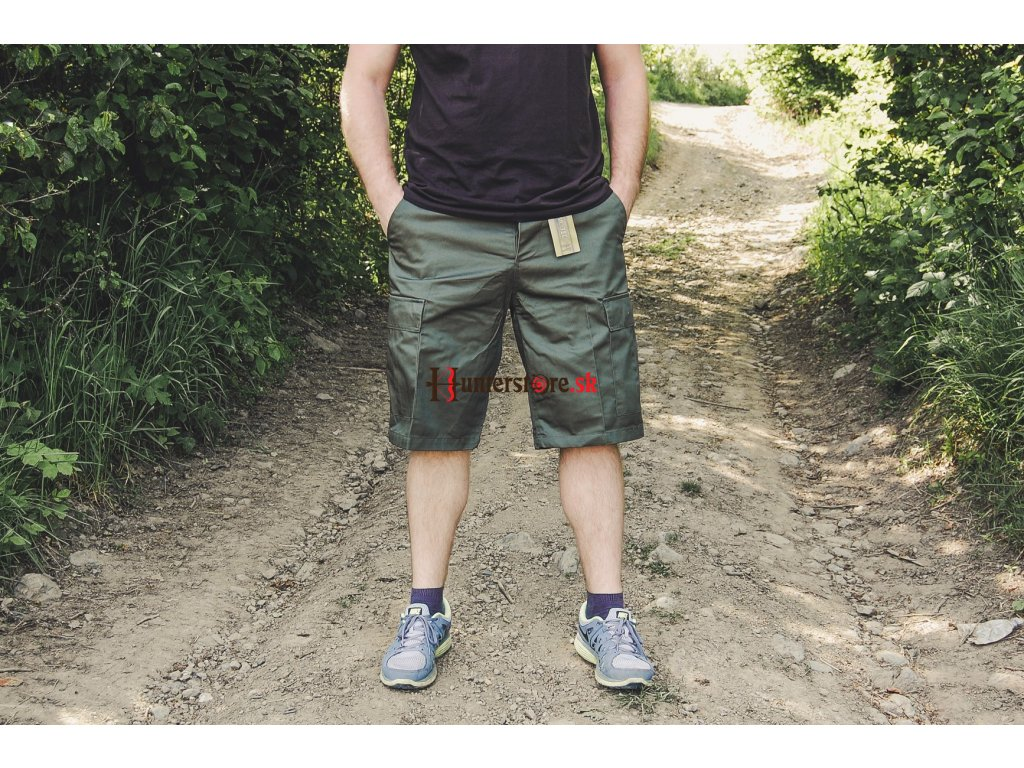 6a01f17c5b0c Mil-tec krátke nohavice Bermudy olivové - Krátke nohavice pánske ...