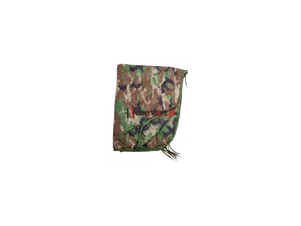 poncho liner 210 x 150 cm farba woodland