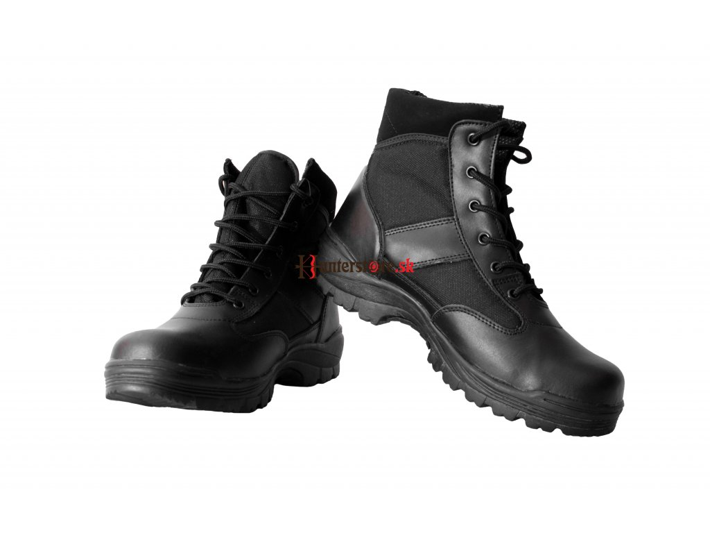 Mil-Tec security low Topánky čierne