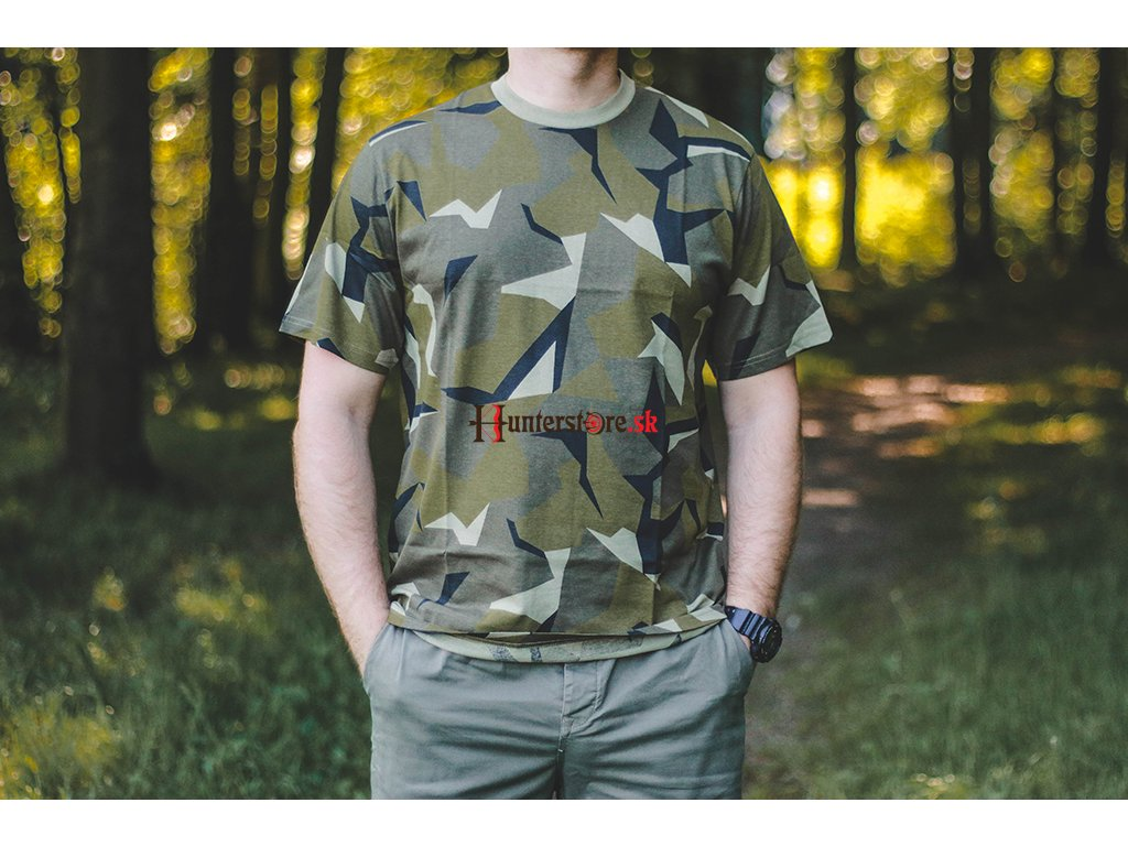 Pánske tričko SWEDEN CAMO - Hunterstore.sk c5b50cc2a55