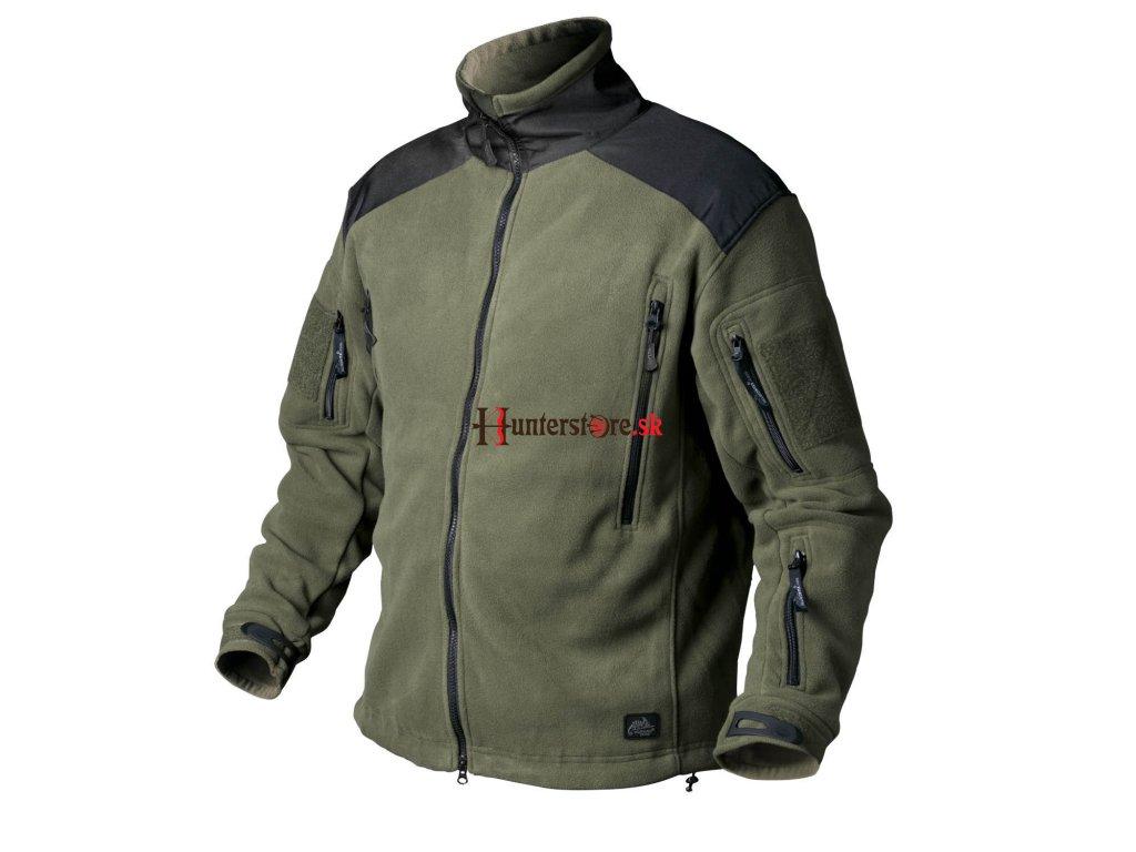 Helikon-Tex fleecová bunda Liberty olivovo - čierna