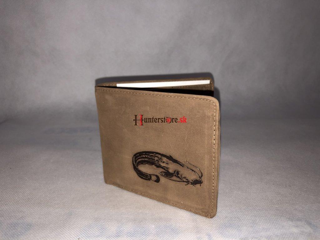 Kožená peňaženka - Sumec