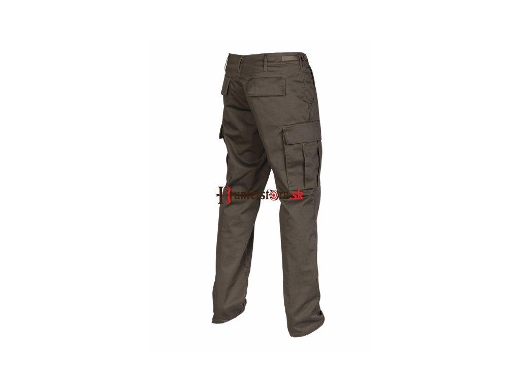 Nohavice US RANGER HOSE - rovný strih, olivové