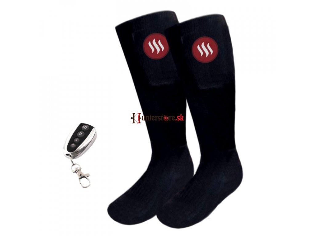 Vyhrievané ponožky s diaľkovým ovládaním, veľkosť: M (5-7,5), L (8-11)