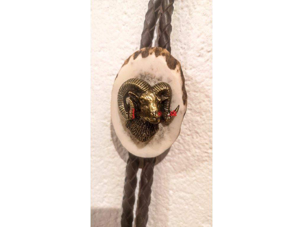 Poľovnícka kravata kozorožec