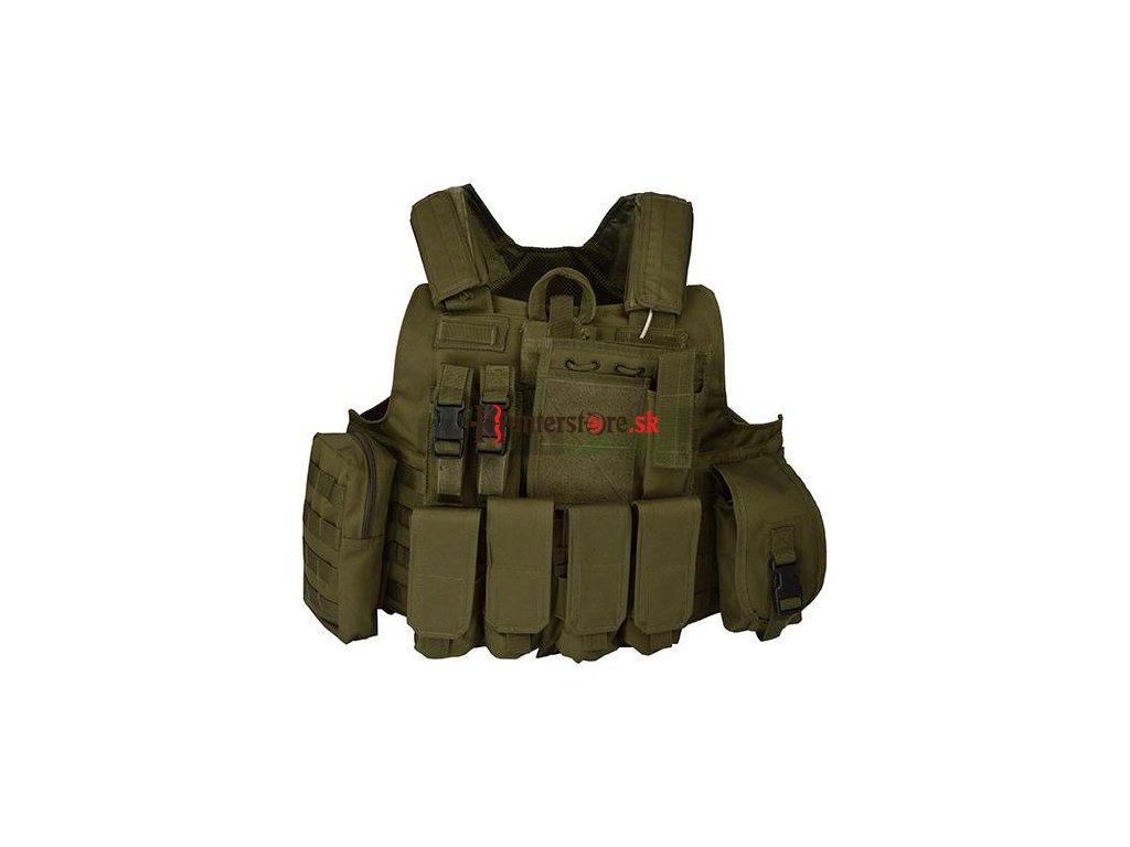 2c2039571725 Vesta taktická RELEASE - zelená - Hunterstore.sk