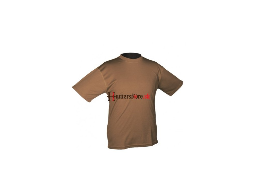tactical t shirt quickdry dark coyote