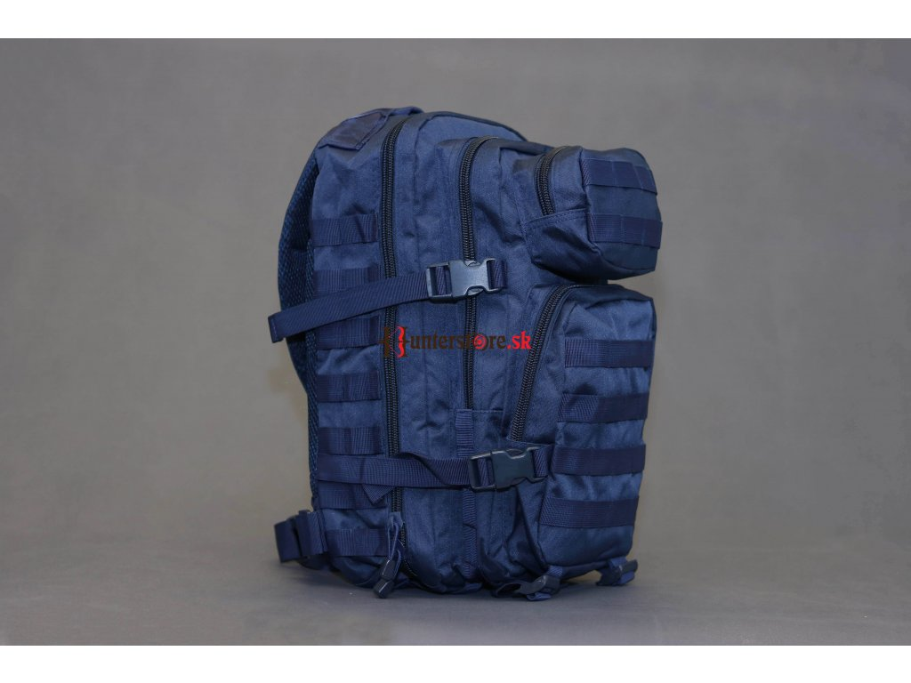 Mil Tec US assault Small ruksak tmavo-modrý 20l