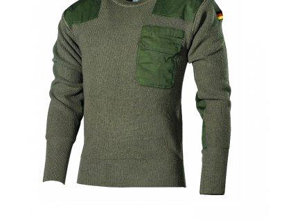 Vojenský sveter - pulóver BW Acryl Mil-Tec - oliv