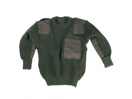 Mil-Tec detský sveter, olivový