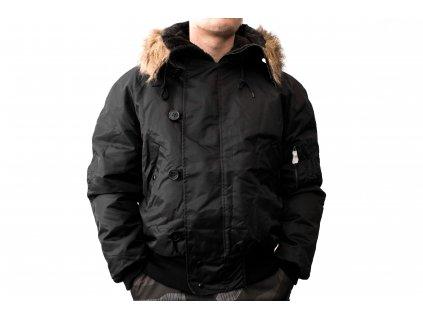 Mil-Tec US N2B bunda čierna