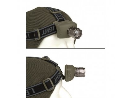 čelová baterka miltec