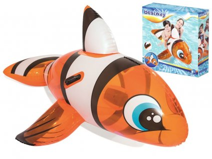 eng pl Bestway inflatable NEMO 1 57m fish with handles 41088 13118 1