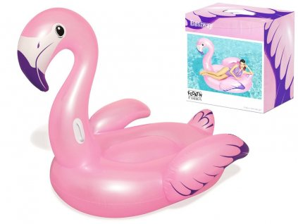eng pl Bestway Large inflatable flamingo for swimming 41119 14107 1
