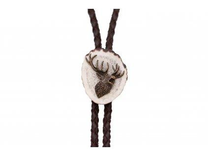 Poľovnícka kravata jeleň