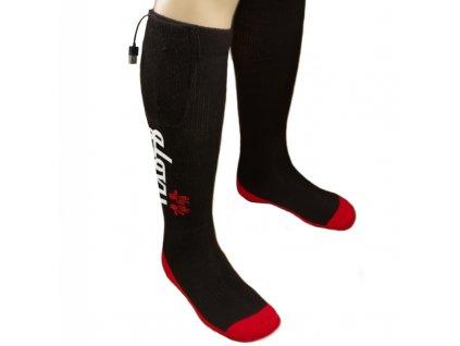 Vyhrievané lyžiarske ponožky, veľkosť: M