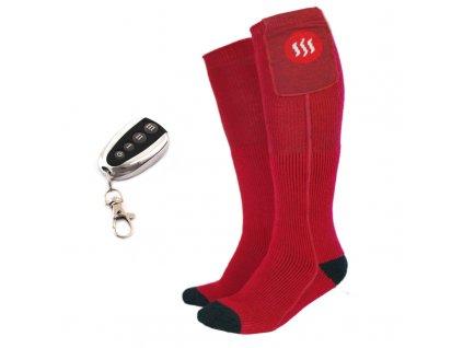 Vyhrievané ponožky s diaľkovým ovládaním, veľkosť M,L
