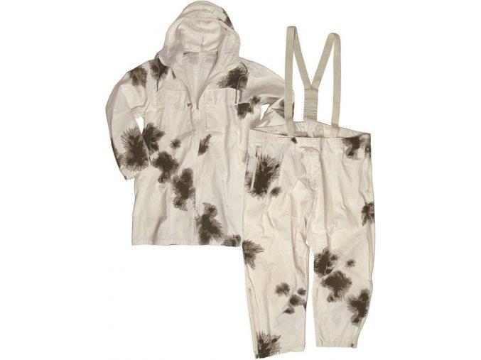 MilTec Nemecký zimný oblek, biely
