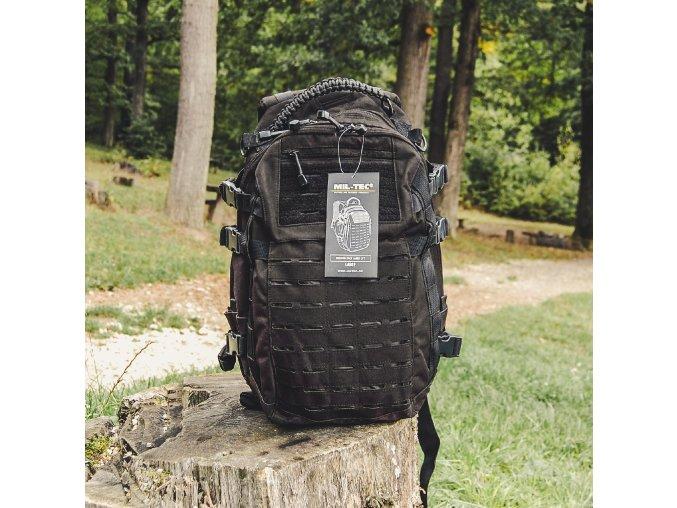 Ruksak Mission Pack 25L čierny, Miltec