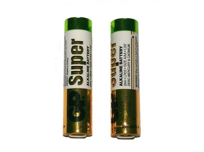 3x AAA bateria