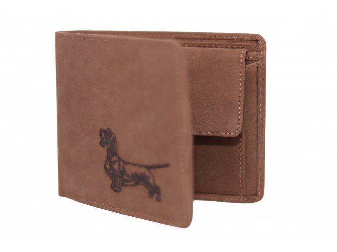 Kožená peňaženka - jazvečíkg2