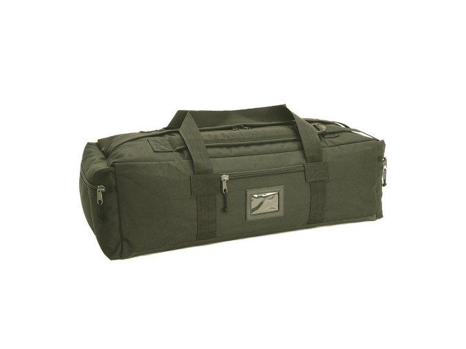 Prepravná taška - oliv/čierna
