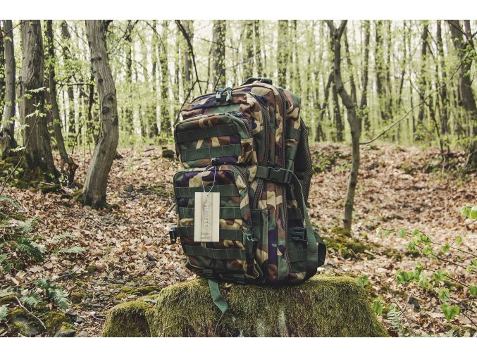 Mil Tec US assault Small ruksak woodland 36l