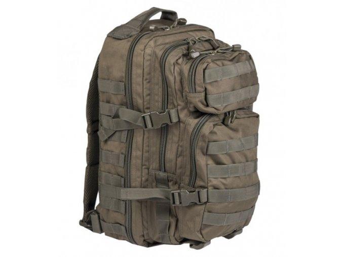 mil tec us assault small ruksak olivovy 20l 2585