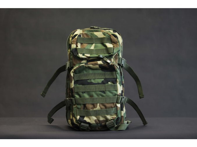 Mil Tec US assault Small ruksak woodland 20l