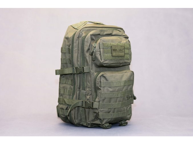 Mil Tec US assault Large ruksak Olivový 36l