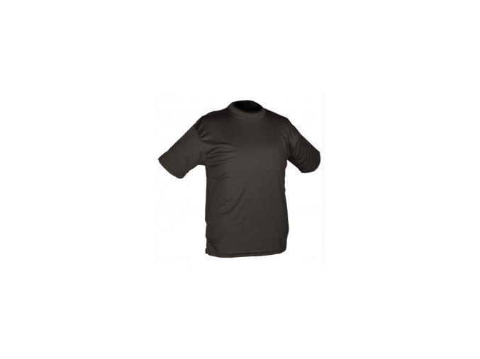 Taktické tričko, QuickDry čierne