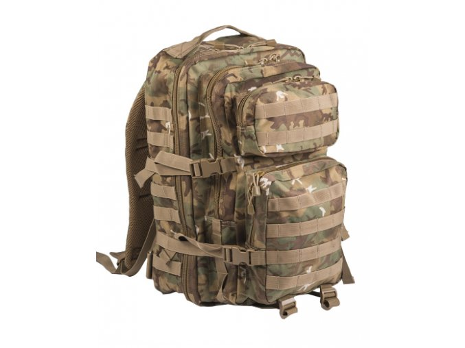 Mil Tec US Assault Pack LG W/L-ARID 36l