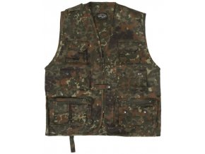 eng pl Flecktarn HUNTING AND FISHING VEST 2807 2