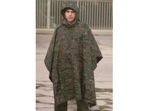 eng pm Digital Woodland RIPSTOP WET WEATHER PONCHO 2757 2