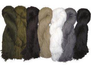Materiál na Ghillie oblek - 7 farieb