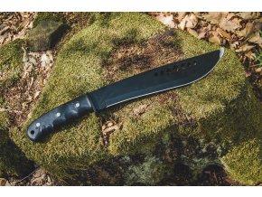 Mil-Tec Bolo Jungle mačeta čierna s puzdrom, 44cm