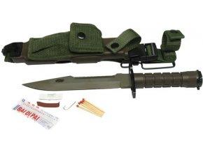 Mil-Tec bajonet US M9 spuzdrem repro 32 cm