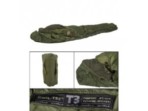 spacak tactical 2 farba olivova