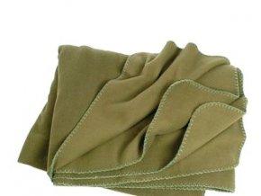Zelená fleecová deka, Mil-Tec