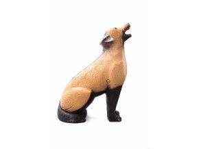 3D terč vlka pre streľbu z kuše/luku