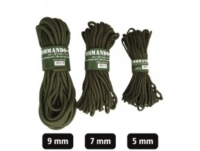 LANO COMMANDO-SEIL OLIV 5MM (15M)