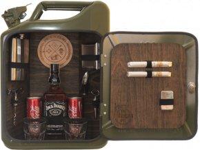 The jerrycan bar darček pre muža canister spirit of real man