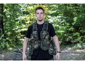 mil tec deployment tactical vest 12 pockets bw cam 2