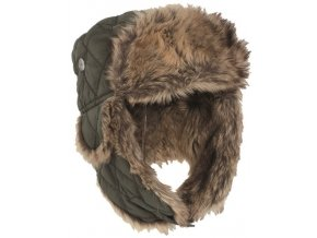 eng pl OD WINTER CAP WITH FAUX FUR 4097 1