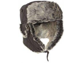 Baranica čierna Mil tec, zimná čiapka