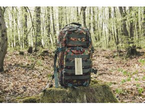 Mil-Tec US assault Small ruksak flecktarn, 20L