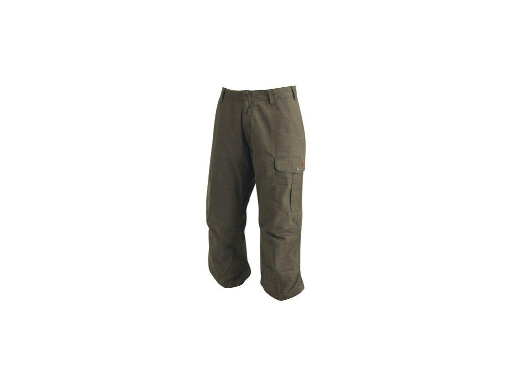 Kalhoty Durban 3/4 Trousers Fjällräven - Dark Olive