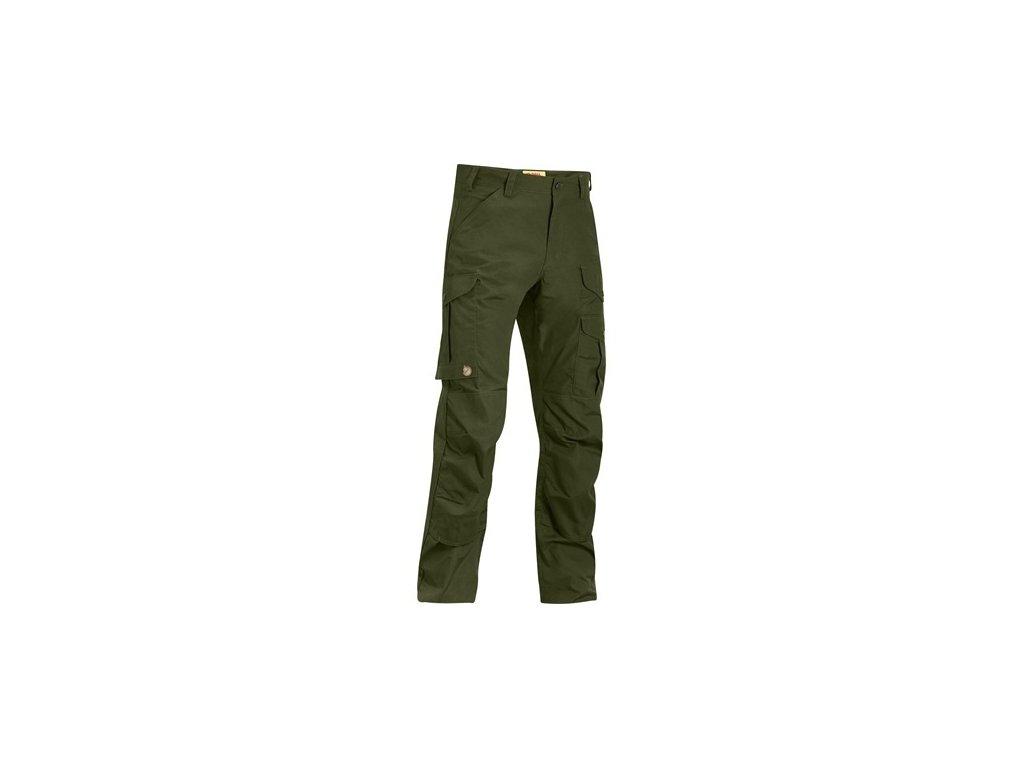 Kalhoty Iceland Pro Trousers Fjällräven vel. 50 - Olive